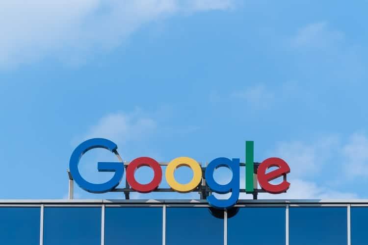 Google sign.