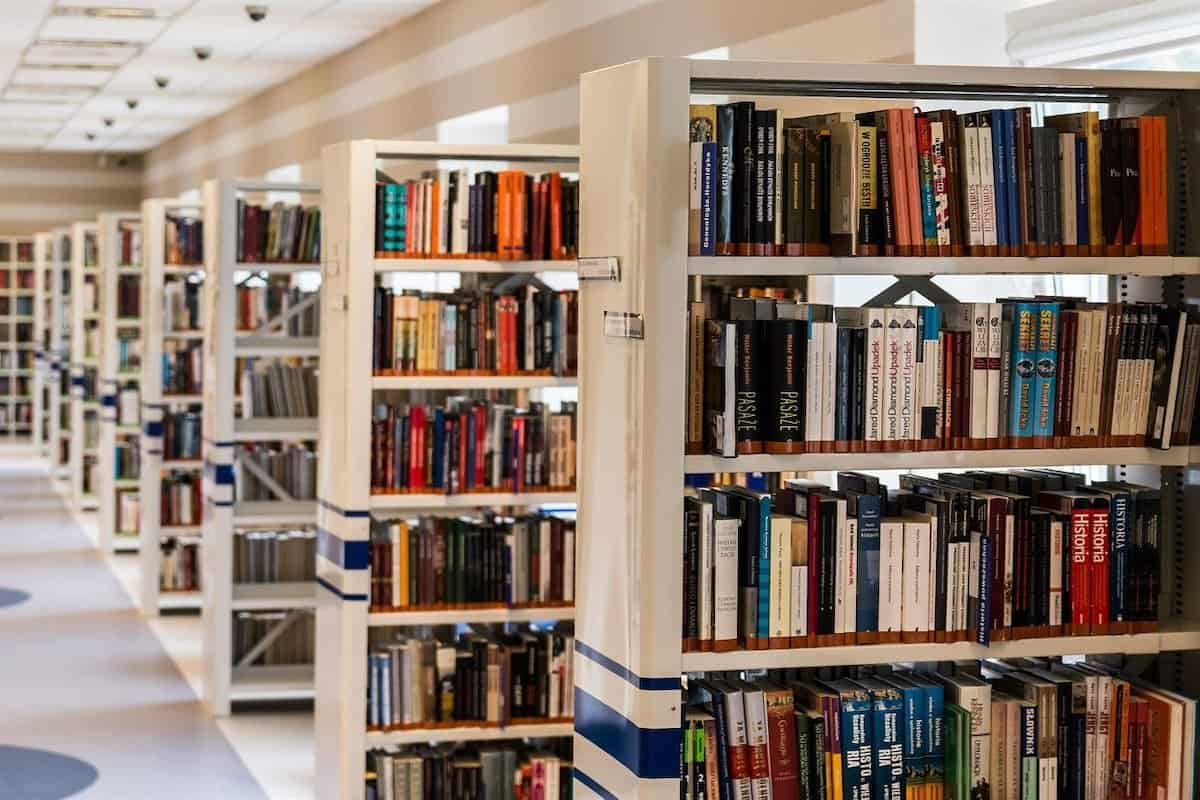 A library of books in a school. What Is STEM?